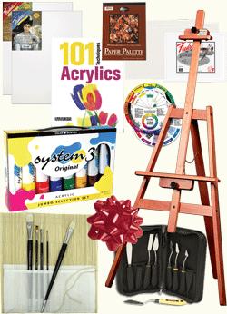 Rex Art Premium Acrylic Painting Gift Set