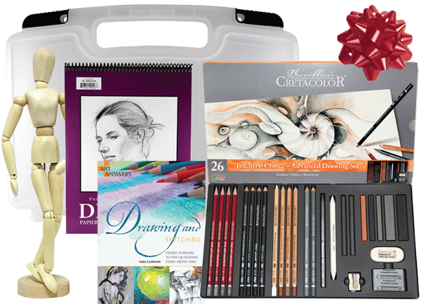 Rex Art Drawing Gift Set