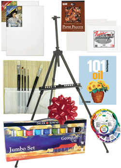 Rex Art Oil Painting Gift Kit
