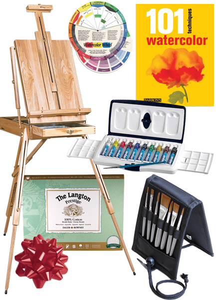 Rex Art Watercolor Painting Gift Set