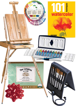 Rex Art Watercolor Painting Gift Kit