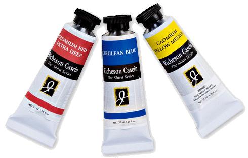 Richeson Casein, The Shiva Series - Color Titanium White - Size 1.25oz