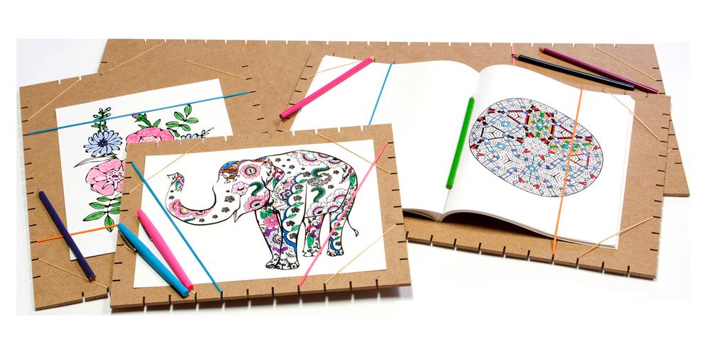 Jack Richeson Coloring Page Panels Rex Art Supplies