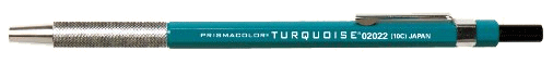 Sanford Turquoise Lead Holder - Metal Grip with Clip