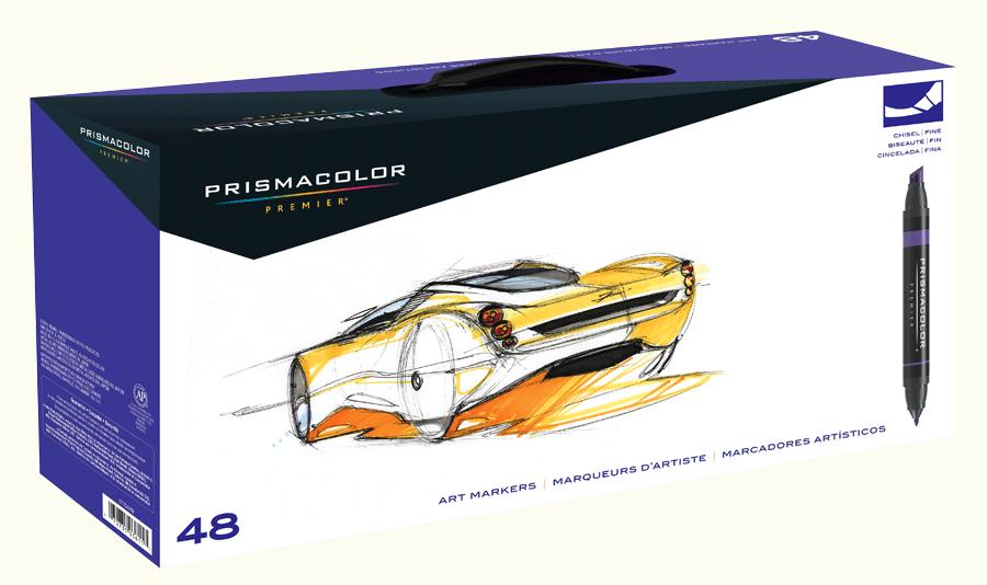 Prismacolor Art Marker Set Of 48 Rex Art Supplies