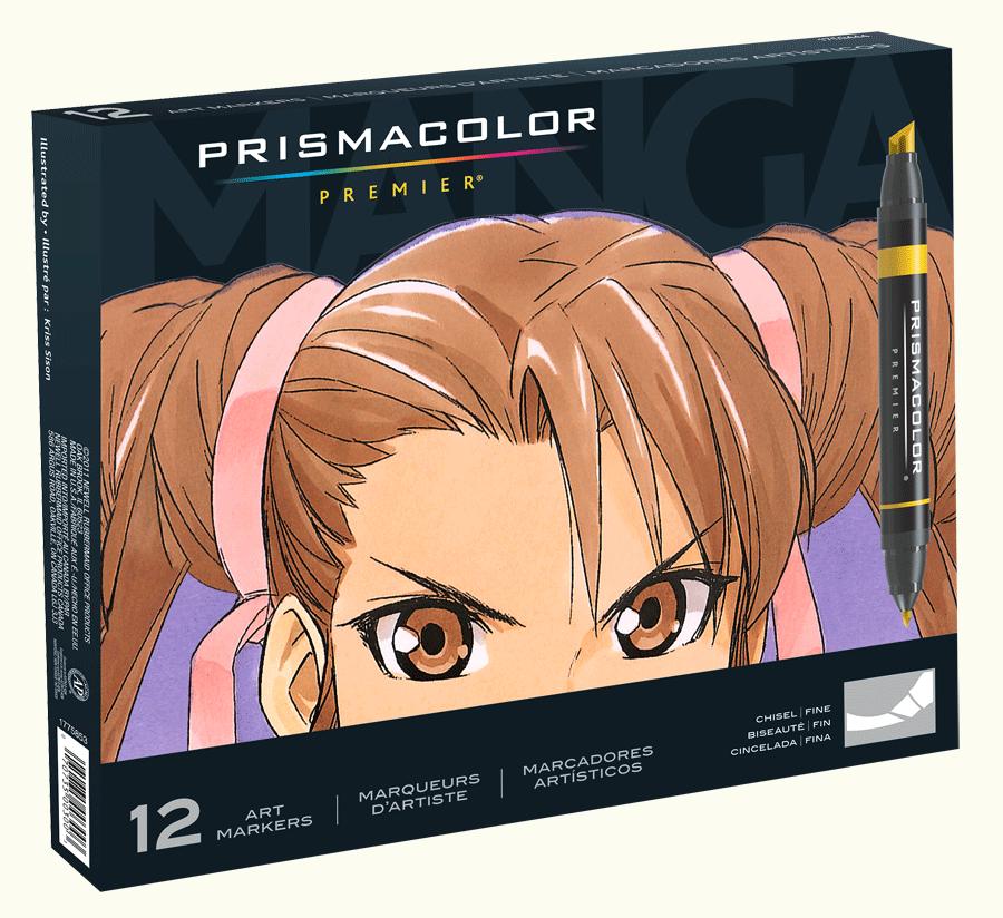 Prismacolor Art Marker Manga Set Of 12 Rex Art Supplies