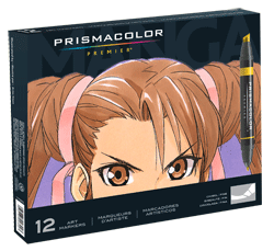 Prismacolor Art Marker Manga Set of 12