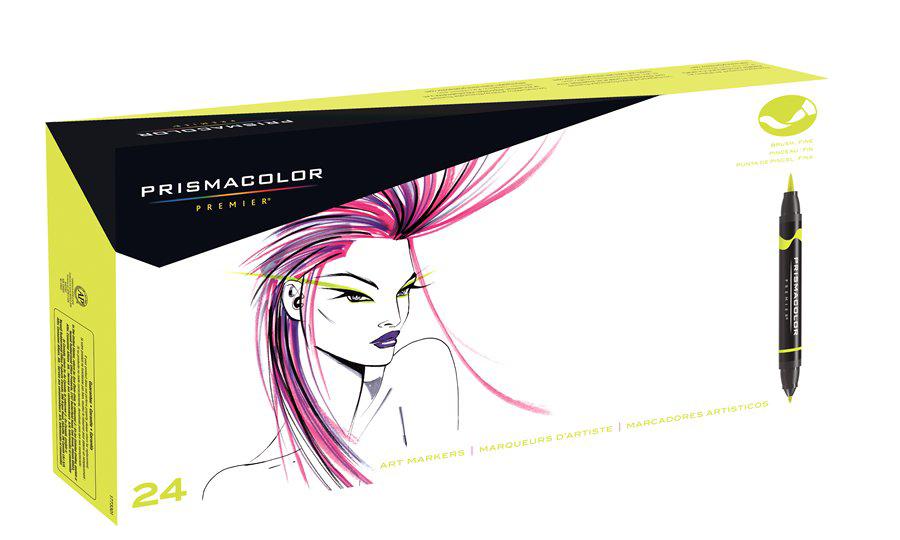 Prismacolor Premier Brush Marker Set of 24 | Rex Art Supplies