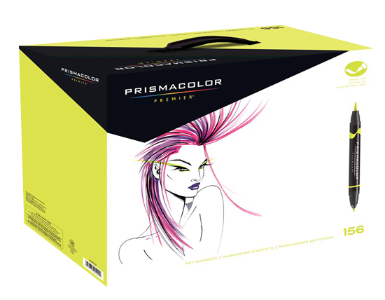 Prismacolor Premier Brush Marker Set of 156