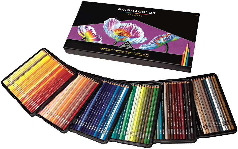 Prismacolor Premier Colored Pencil Set Of 150 Rex Art