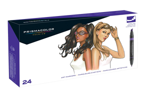 Prismacolor Art Marker Set of 24 Portrait