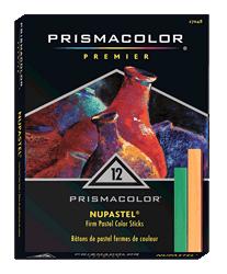 Prismacolor Nupastel Color Stick Set of 12