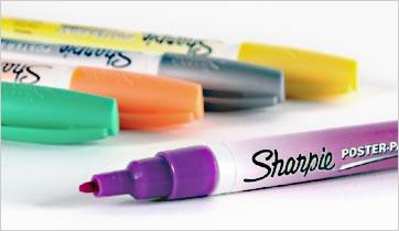 Iwata Airbrush Kit >> Sharpie Poster-Paint Pens (Water-Based) | Rex Art Supplies