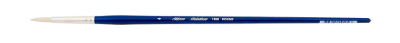 Silver Brush Bristlon, Long Handle, Round - Size 4