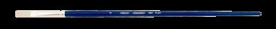 Silver Brush Bristlon, Long Handle, Flat - Size 4