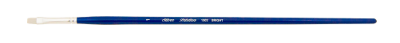 Silver Brush Bristlon, Long Handle, Bright - Size 1