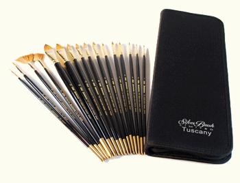 Silver Brush Daniel Greene Starter Set of 10 - Long Handles
