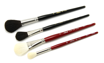 Silver Brush Silver Mop Brush Set of 4 - Multi Media - Short Handles