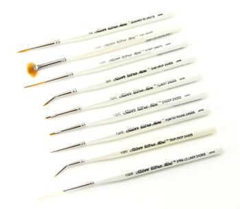Silver Brush Ultra Mini Complete Brush Set of 29 - Short Handles