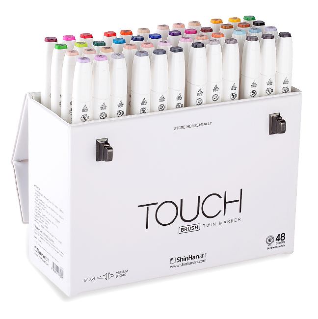 ShinHan Art TOUCH TWIN 36 Marker Set Twin tips 36 COLORS