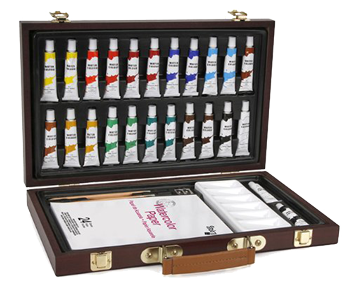 Studio 71 Wood Box Watercolor Set of 27 Pieces