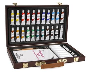 Studio 71 Wood Box Watercolor Set of 27 Pieces