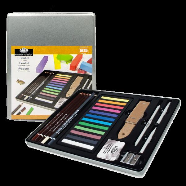 Royal & Langnickel Royal Standard Tin Art Set - Pastel Artist