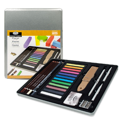 Royal & Langnickel Royal Standard Tin Art Set - Pastel Artist
