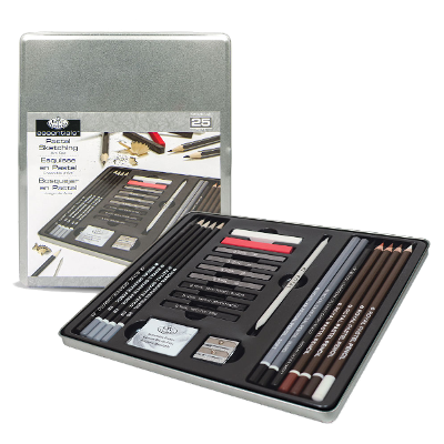 Royal & Langnickel Royal Standard Tin Art Set - Life Drawing