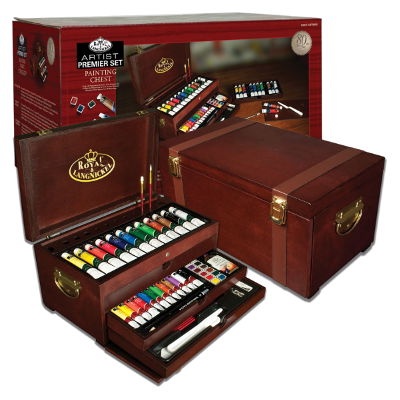 Royal & Langnickel Premier 80 Piece Artist Painting Chest