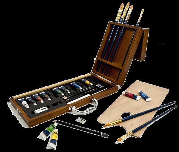 Royal & Langnickel 27 Piece Acrylic Artist Case Set