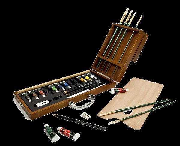 Royal & Langnickel 27 Piece Oil Artist Case Set