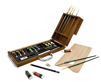 Royal & Langnickel 27 Piece Oil Artist Case Set