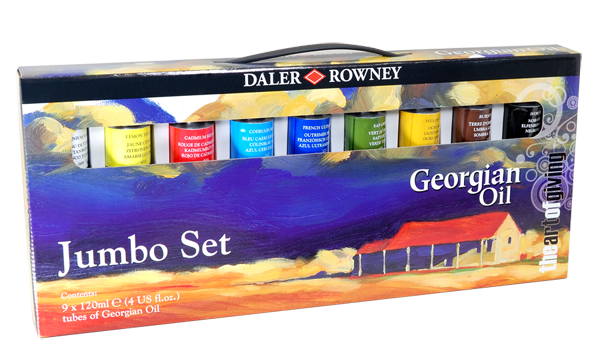 Daler-Rowney Georgian Oil Jumbo Set