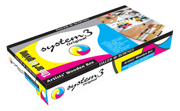 Daler Rowney System 3 Wooden Box Set