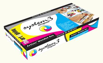 Daler Rowney System 3 Wooden Box Set