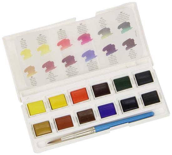 Daler-Rowney Aquafine Watercolor Pocket Set