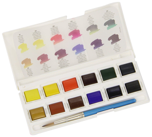 Daler-Rowney Aquafine Watercolor Pocket Set