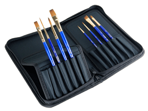 Robert Simmons Sapphire Brush Zip Case