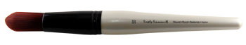 Simply Simmons XL Stiff Synthetic Round Brush - Size 50