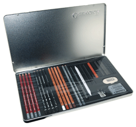 Cretacolor Teachers Choice Advanced Tin Set of 26