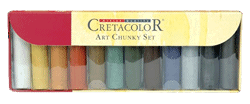 Cretacolor Art Chunky Cardboard Set of 12