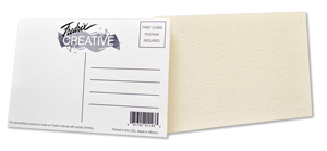 Fredrix Creative - Postcards - Color White - Size 4 x 6 - Pack of 100