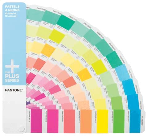 PANTONE Plus Series Premium Pastels & Neons Formula Guide - Coated & Uncoated