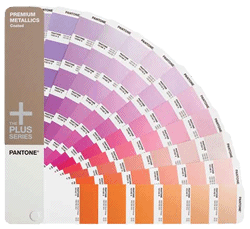 PANTONE Plus Series Premium Metallics Formula Guide - Coated