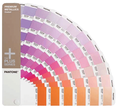 PANTONE Plus Series Premium Metallics Formula Guide - Coated