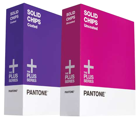 PANTONE Plus Series Solid Color Chips - Coated & Uncoated