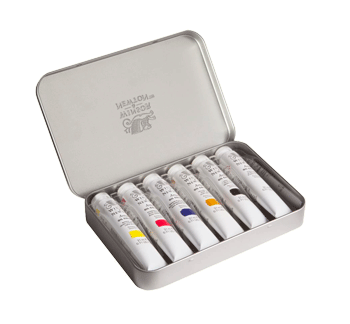Winsor & Newton Oil Professional Tin Set