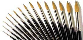 Winsor & Newton Series 7 Watercolor Round Brush - Size 3x0