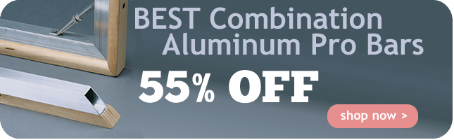 55% Off BEST Combination Aluminum Pro Bars